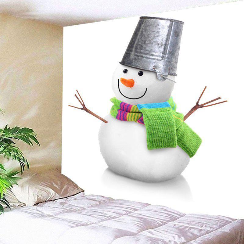 Wall Art Christmas Snowman Bedroom Tapestry christmas tree snowman printed wall tapestry