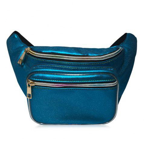 Shining Fanny Pack - BLUE