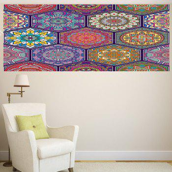 Multifunction Bohemian Graphic Pattern Wall Sticker - 1PC:24*35 INCH( NO FRAME ) 1PC:24*35 INCH( NO FRAME )