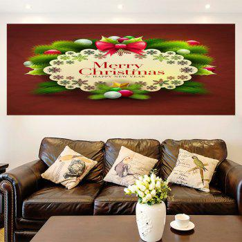 Multifunction Merry Christmas Graphic Pattern Wall Sticker - 1PC:24*35 INCH( NO FRAME ) 1PC:24*35 INCH( NO FRAME )
