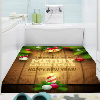 Multifunction Colored Christmas Candle Wall Sticker - COLORFUL 1PC:24*47 INCH( NO FRAME )