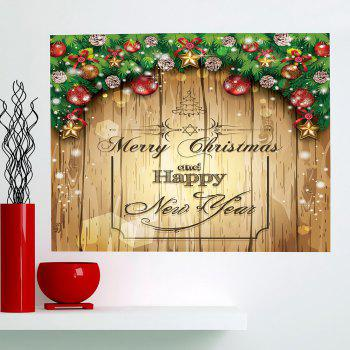 Merry Christmas Decorations Printed Multifunction Wall Art Painting - 1PC:24*47 INCH( NO FRAME ) 1PC:24*47 INCH( NO FRAME )