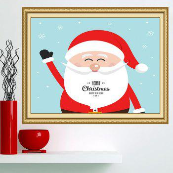 Multifunction Happy Santa Claus Patterned Wall Art Painting - 1PC:24*35 INCH( NO FRAME ) 1PC:24*35 INCH( NO FRAME )