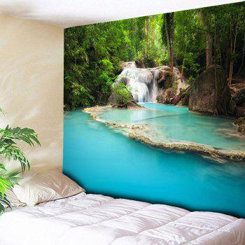 Landscape Print Wall Hanging Bedroom Tapestry - COLORMIX W59 INCH * L59 INCH