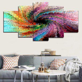 Space Colorful Wall Art Painting - COLORFUL COLORFUL