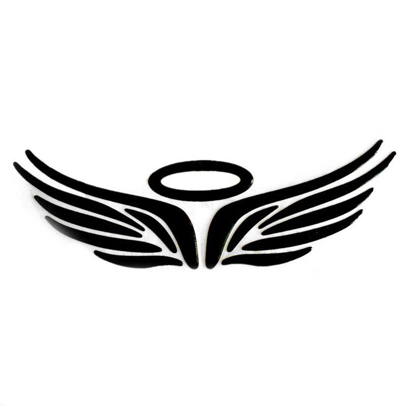 Angel Wings Pattern Autocollants voiture - Noir