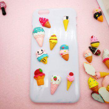 30 Pcs Phone Case DIY Decorations Cartoon Ice Creams