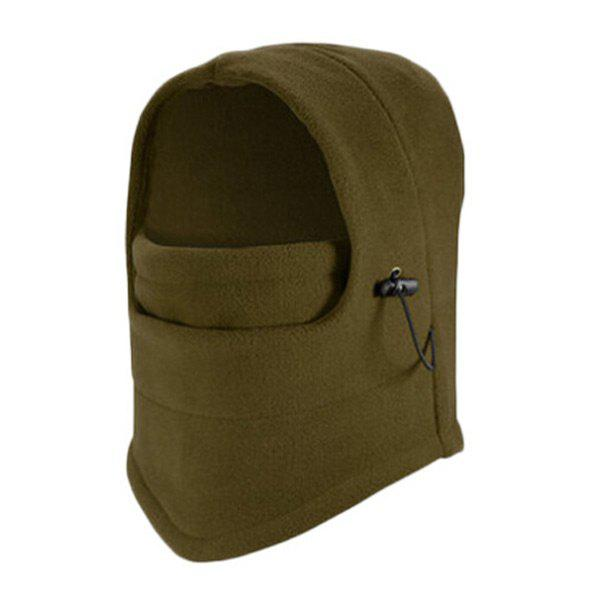 Outdoor Windproof Cycling Hat with Face Mask protective outdoor war game military skull half face shield mask black
