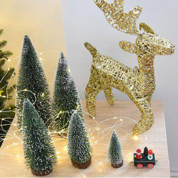 Artificial Mini Christmas Tree - GREEN 15CM