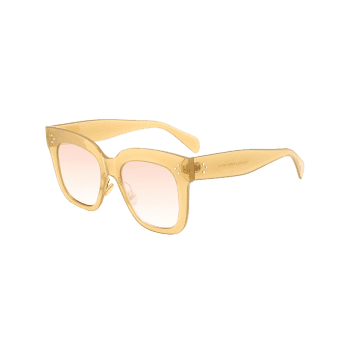 Outdoor Anti UV Full Frame Square Sunglasses -  GINGER