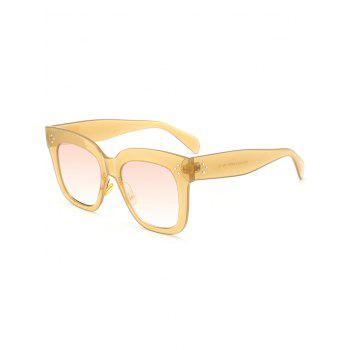 Outdoor Anti UV Full Frame Square Sunglasses - GINGER GINGER