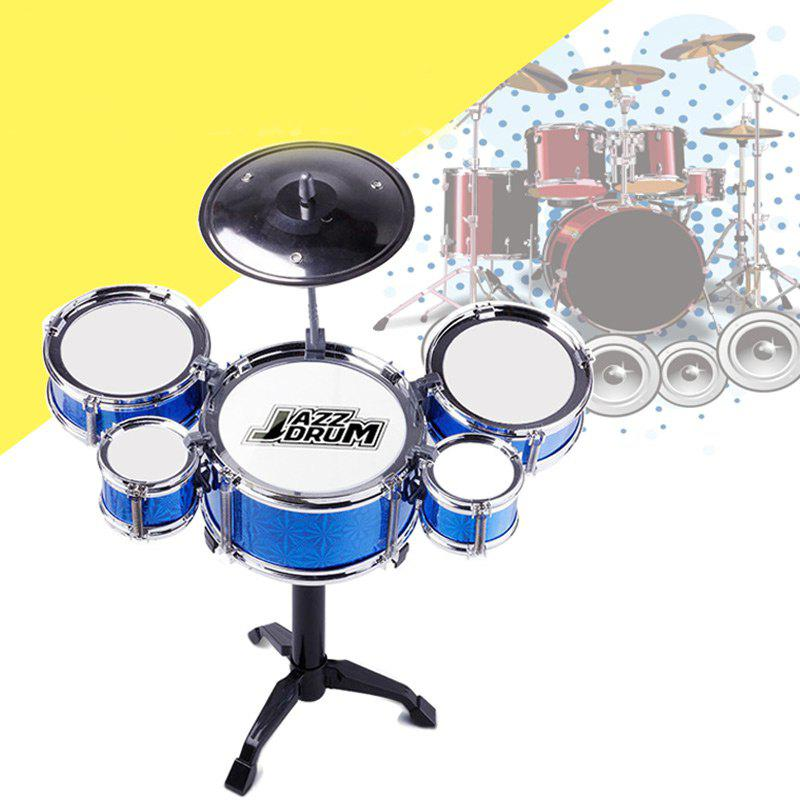 2018 mini kids drum set for educational toy musical learning blue in other novelty gadgets. Black Bedroom Furniture Sets. Home Design Ideas