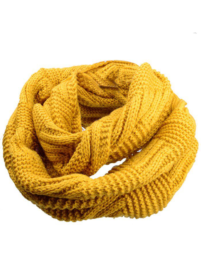 Soft Crochet Knitted Chunky Scarf - EARTHY