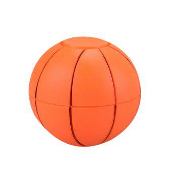 Fiddle Toys Basketball Football Fidget Spinner - ORANGE