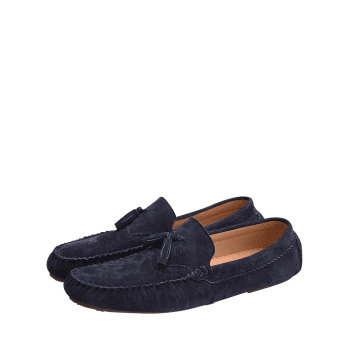 Tassel Slip On Casual Shoes - BLUE 41