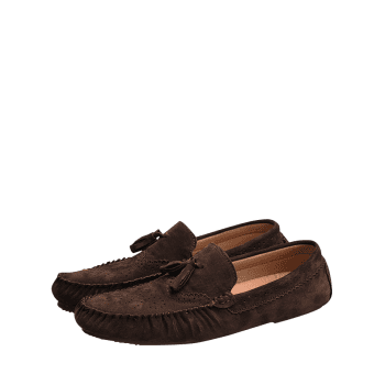 Tassel Slip On Casual Shoes - COFFEE 42