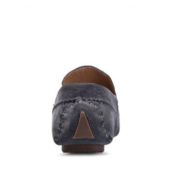 Tassel Slip On Casual Shoes - GRAY 43