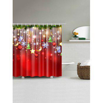 Christmas Waterproof Bathroom Shower Curtain - COLORMIX XL