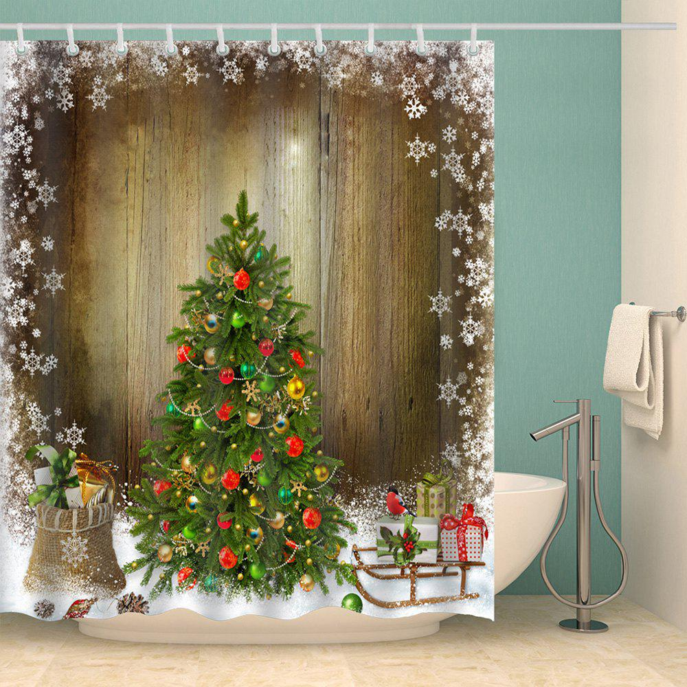2018 thicken merry christmas bathroom waterproof shower curtain colormix s in shower curtains. Black Bedroom Furniture Sets. Home Design Ideas