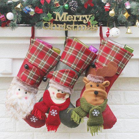 17 Off 2019 3pcs Hanging Decoration Supplies Christmas Socks In