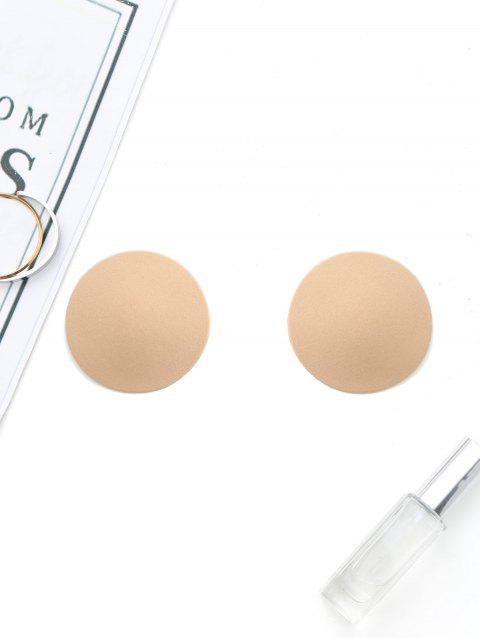 Round Shape Nipple Sticker - NUDE ONE SIZE