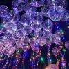Clear Balloon with LED String Lights - TRANSPARENT