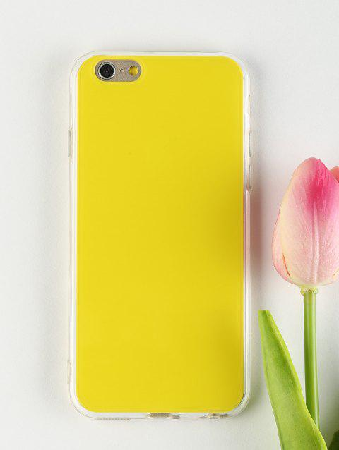 Etui de Téléphone Portable DIY pour Iphone - Jaune FOR IPHONE 6 / 6S