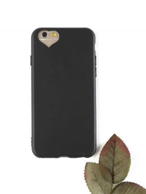 Heart DIY Mobile Phone Case For Iphone - BLACK FOR IPHONE 6 / 6S
