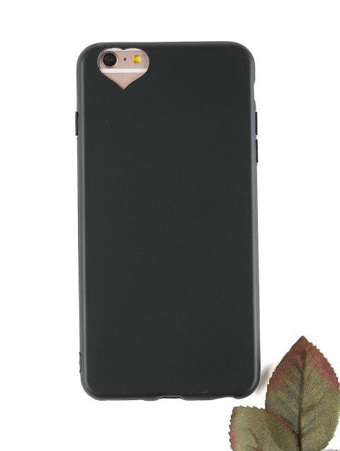 Heart DIY Mobile Phone Case For Iphone - BLACK FOR IPHONE 6 PLUS / 6S PLUS