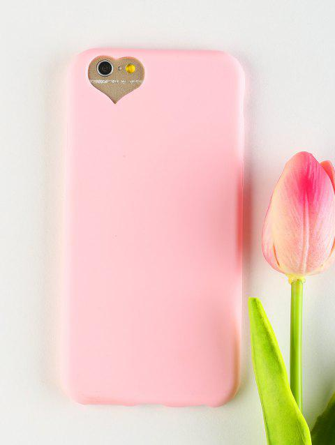 Heart DIY Mobile Phone Case For Iphone - PINK FOR IPHONE 6 / 6S