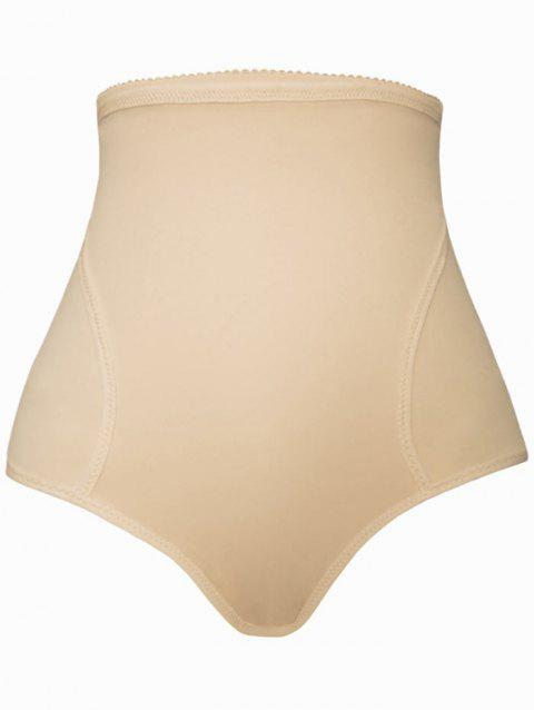 Push Up High Waist Padded Panties - COMPLEXION L