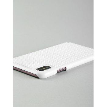 Building Blocks DIY Cell Phone Case For Iphone - WHITE FOR IPHONE X