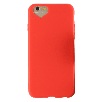 Heart DIY Mobile Phone Case For Iphone - RED FOR IPHONE 6 / 6S