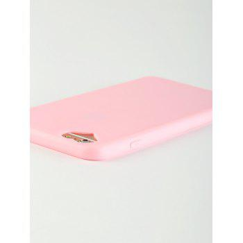 Heart DIY Mobile Phone Case For Iphone - PINK FOR IPHONE 6 PLUS / 6S PLUS