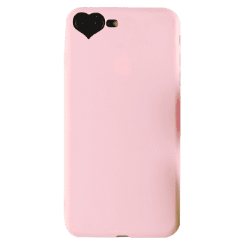 Heart DIY Mobile Phone Case For Iphone - PINK FOR IPHONE 7 PLUS/8 PLUS