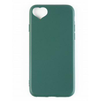 Heart DIY Mobile Phone Case For Iphone - BLACKISH GREEN FOR IPHONE 6 / 6S