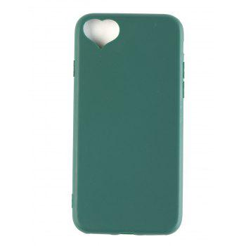 Heart DIY Mobile Phone Case For Iphone - BLACKISH GREEN FOR IPHONE 7/8