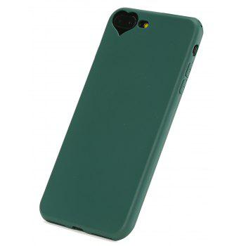 Heart DIY Mobile Phone Case For Iphone - BLACKISH GREEN FOR IPHONE 7 PLUS/8 PLUS