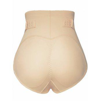 Push Up High Waist Padded Panties - COMPLEXION M