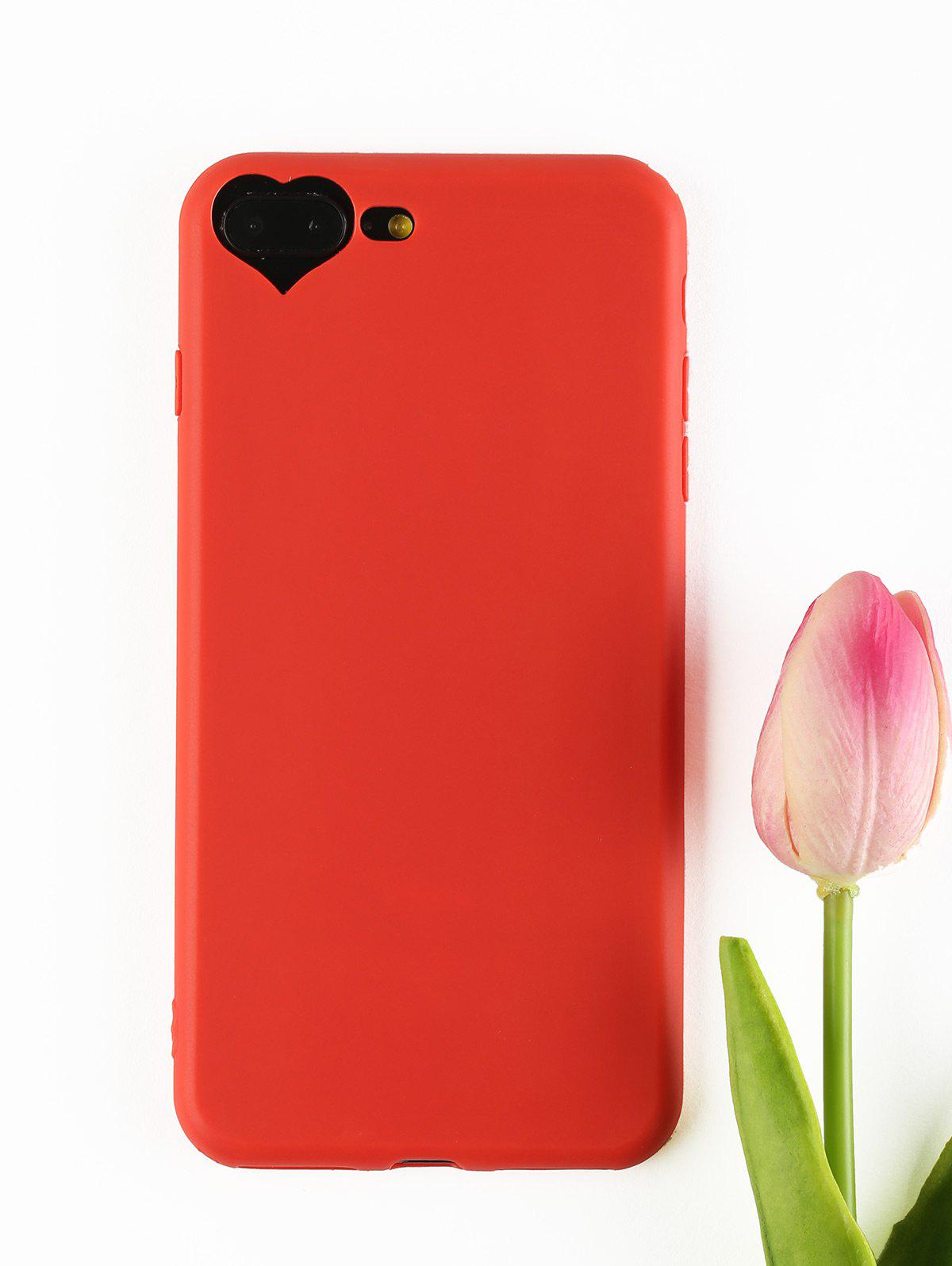 Heart DIY Mobile Phone Case For Iphone - RED FOR IPHONE 7 PLUS/8 PLUS