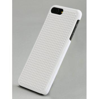 Building Blocks DIY Cell Phone Case For Iphone - WHITE FOR IPHONE 7 PLUS/8 PLUS