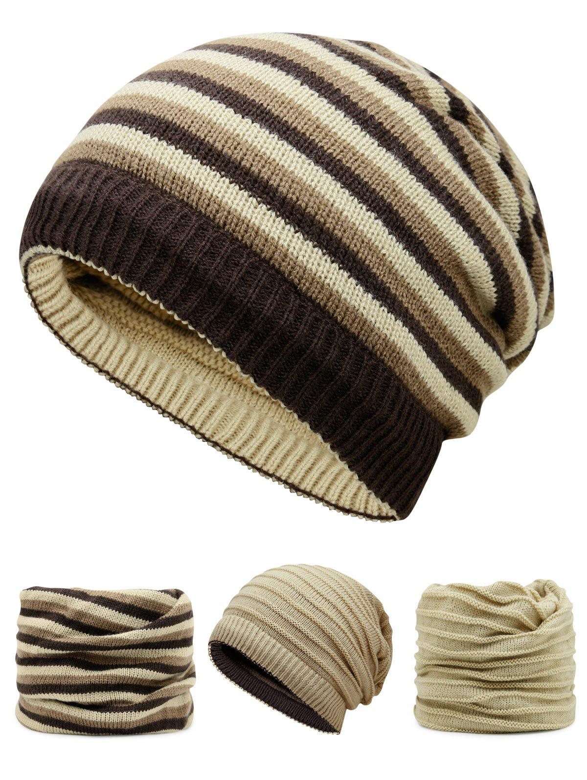 Open Top Decorated Reversible Crochet Knitted Beanie hot winter beanie knit crochet ski hat plicate baggy oversized slouch unisex cap