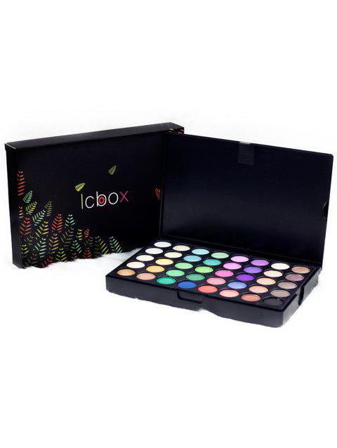 120 Colors Cosmetic Powder Eyeshadow Palette - COLORFUL