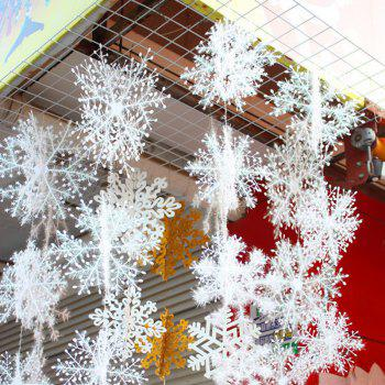 3 Pcs Christmas Tree Hanging Decorations Snowflakes
