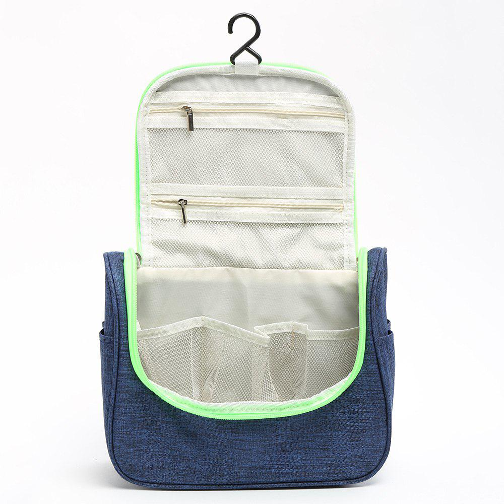 Home Multifunction Hanging Storage Bag - BLUE