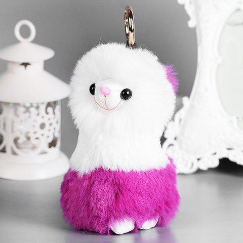 Fuzzy Sheep Cute Keychain - TUTTI FRUTTI