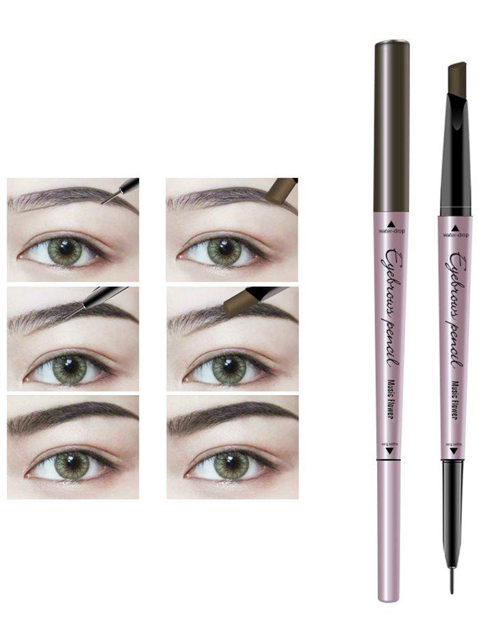 24 Hours Waterproof Automatic Double Headed Eyebrow Pencil парка mango man mango man he002emafnn2
