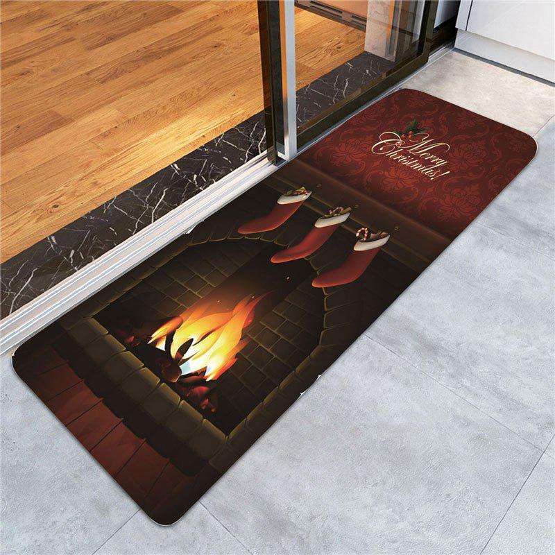Christmas Burning Fireplace Printed Area Rug xeltek private seat tqfp64 ta050 b006 burning test