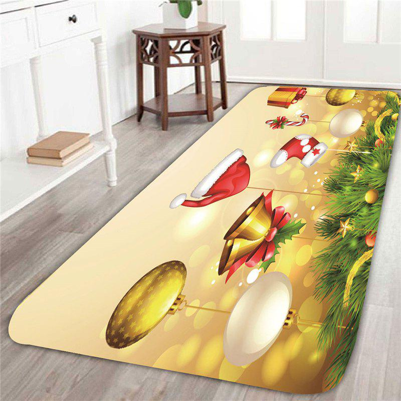 2018 christmas tree decorations patterned indoor area rug for Indoor christmas decorations sale