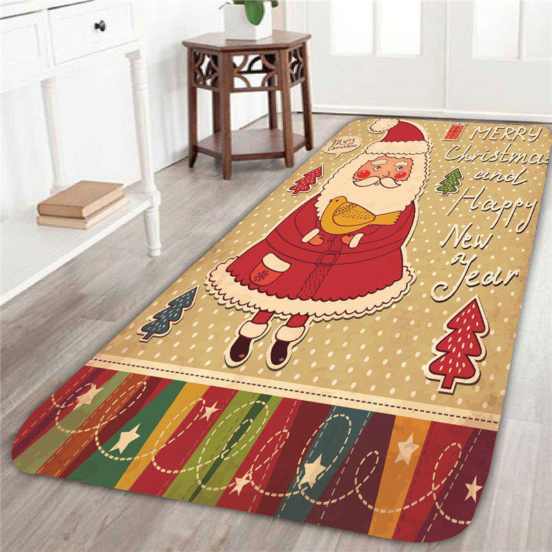 Father Christmas Pattern Skid Resistant Rug шины toyo observe gsi 5 205 60 r16 92q